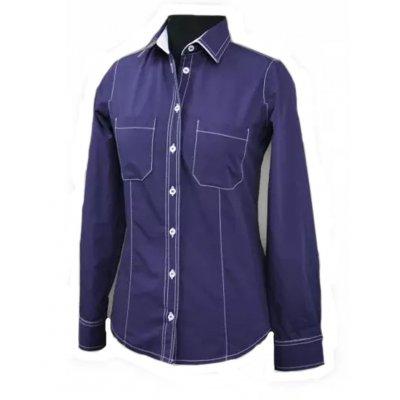 Рубашка официанта джинсовая