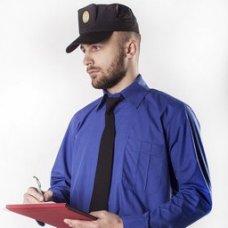Рубашка форменная двухцветка с длиным рукавом