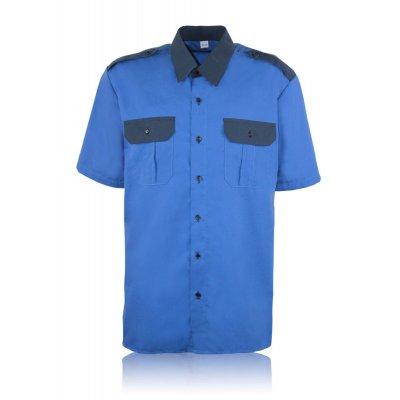 Рубашка короткий рукав комбиниров