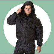 Зимние куртки охранника
