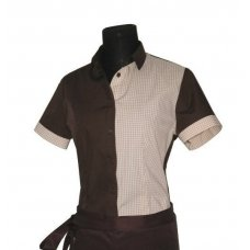 Рубашка официанта, бариста Рико