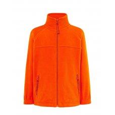 Детская флисовая кофта оранжевая
