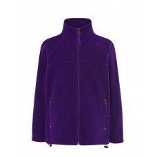 Детская флисовая кофта фиолетовая