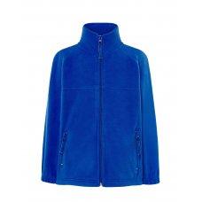Детская флисовая кофта синяя