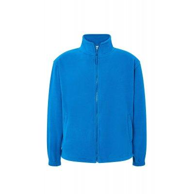 Мужская флисовая кофта светло-синяя