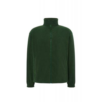 Мужская флисовая кофта темно-зеленая