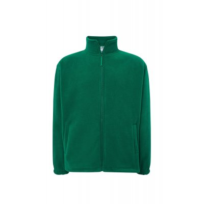 Мужская флисовая кофта зеленая