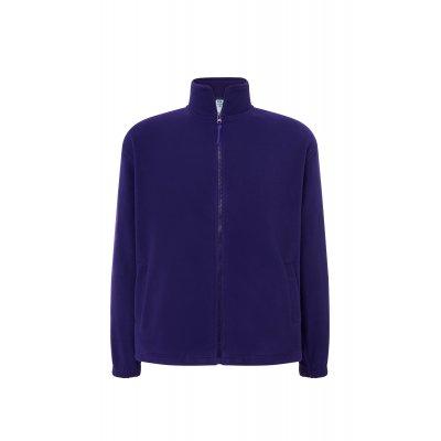 Мужская флисовая кофта фиолетовая