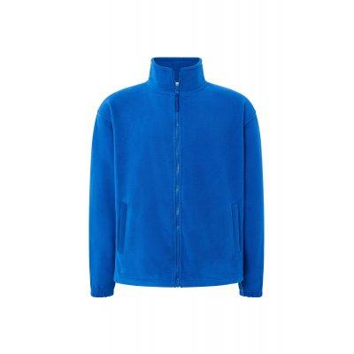Мужская флисовая кофта синяя