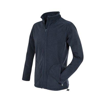 Мужская флисовая куртка темно-синяя