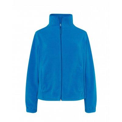 Женская флисовая кофта светло-синяя