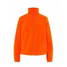 Женская флисовая кофта оранжевая