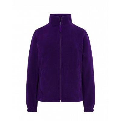 Женская флисовая кофта фиолетовая