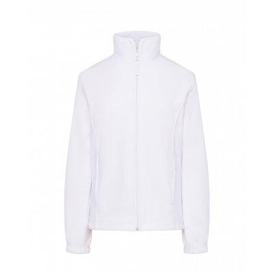 Женская флисовая кофта белая