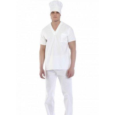 Костюм пекаря (куртка, брюки, колпак)