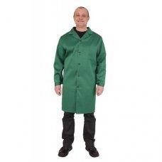Халат мужской рабочий зелёный, ткань грета ОЗ-2