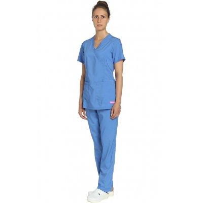 Костюм хирурга женский голубой