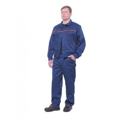 "Костюм рабочий «Лира"" (штаны+куртка), темно-синий."