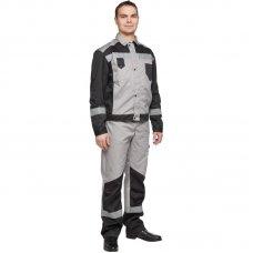 Костюм рабочий Эксперт полукомбинезон с курткой