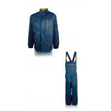 """Куртка с полукомбинезоном """"Гранит""""  синий"""