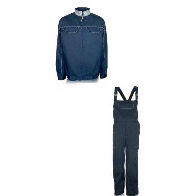 """Куртка с полукомбинезоном """"Брок""""  синий"""