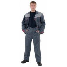 Костюм рабочий «Мастер» (штаны +куртка), серый