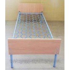 Кровать комбинированная одноярусная с быльцами 190х80 ДСП-ПК