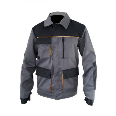 Куртка рабочая «ЭКСПЕРТ», серо-черная