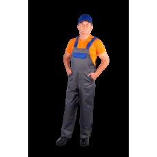 Полукомбинезон рабочий с нагрудником
