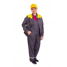 Костюм рабочий женский с полукомбинезоном ИЛ-126