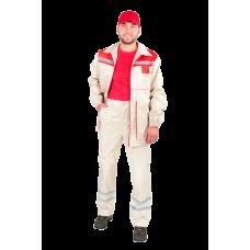Костюм рабочий с брюками М-136