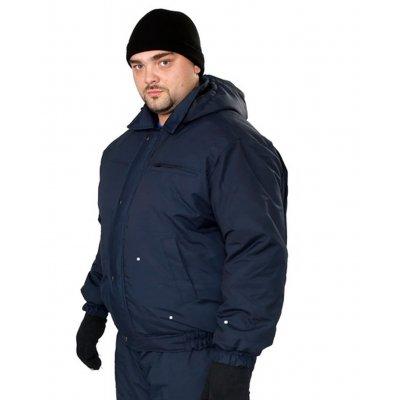 Куртка утепленная Пилот синяя, тк Осло
