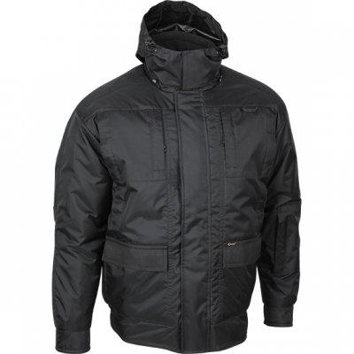 Куртка охранника  Волонтер черная