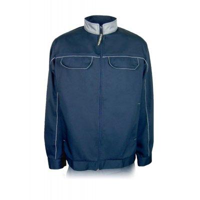 Куртка рабочая с карманами темно-синяя