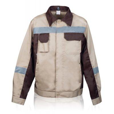 Куртка рабочая бежевая