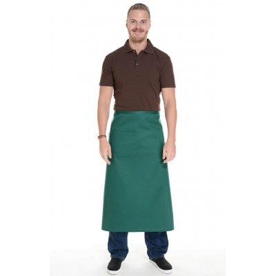 Зеленый фартук для официанта