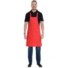 Фартук для официанта, красный