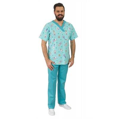 Мужской медицинский костюм Мод.36