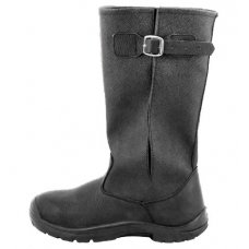 Ботинки зимние с высокими берцами (кожа+кирза)