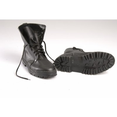 Ботинки ОМОН, юфть-кирза