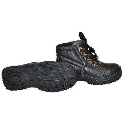Ботинки кожаные на ПУП , c металическим носком