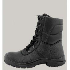 Ботинки  с высокими берцами (ПУП, кожа)