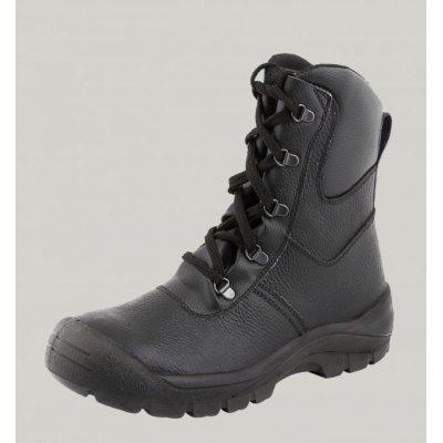 Ботинки Клир рабочие с высокими берцами (ПУП, кожа)
