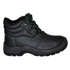 """Ботинки """"Strong WARMER"""" утепленые с мехом (ПУП,кожа, металический носком)"""