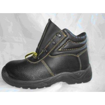 Ботинки юфтевые на ПУП (ман) утепленые, полушерсть