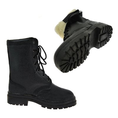 Ботинки ОМОН на меху