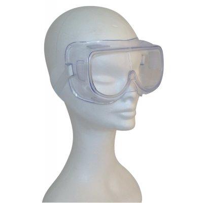 Очки закрытые с прямой вентиляцией