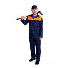 Костюм рабочий с оранжевой кокеткой
