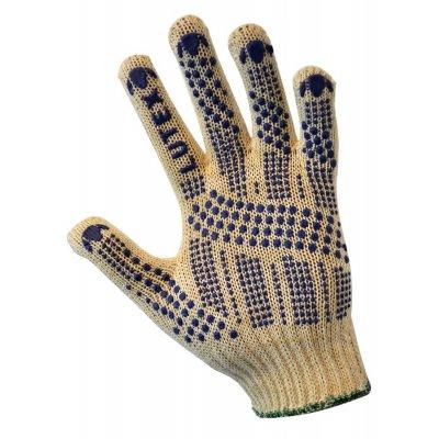 Перчатки трикотажные уплотненная с Пвх-точкой (3 нити)