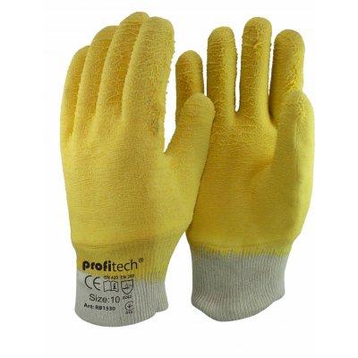 Перчатки нейлоновые с нитрилом покрытием Profitech RB 1530